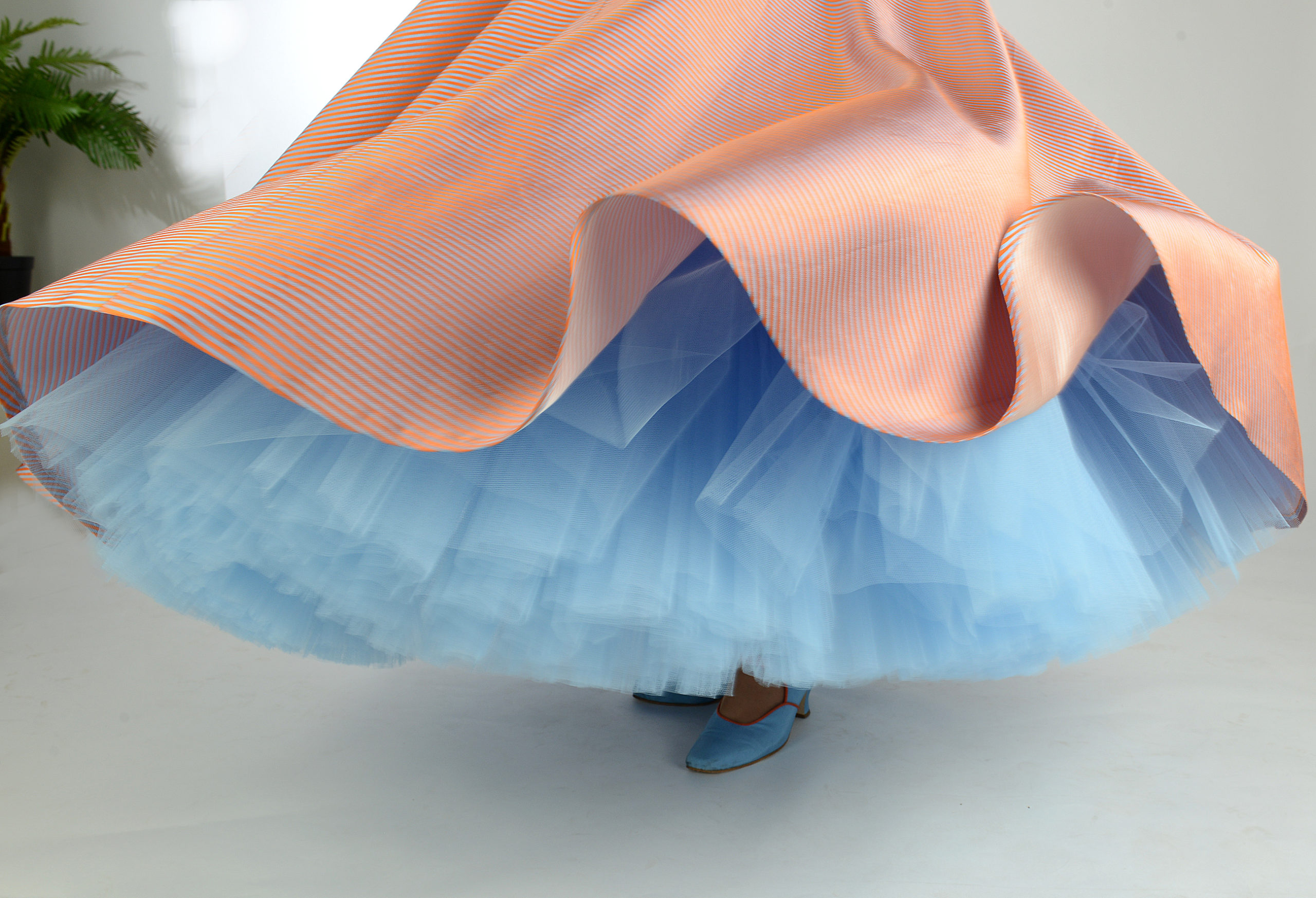 Ute bloggt: Das Ballkleid ist fertig