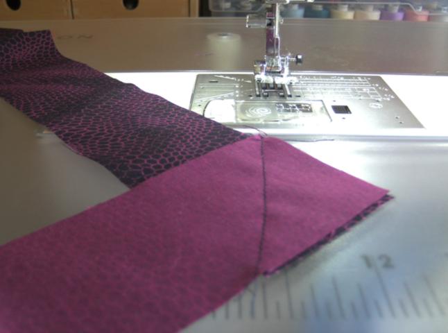 Thema 6: Binding nähen an Quilts